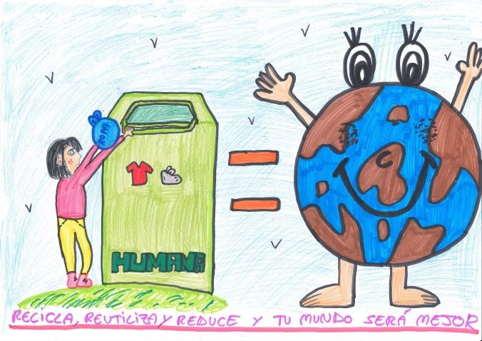 HUMANA_DIBUJO_PLANET AID_DIA DE LA TIERRA