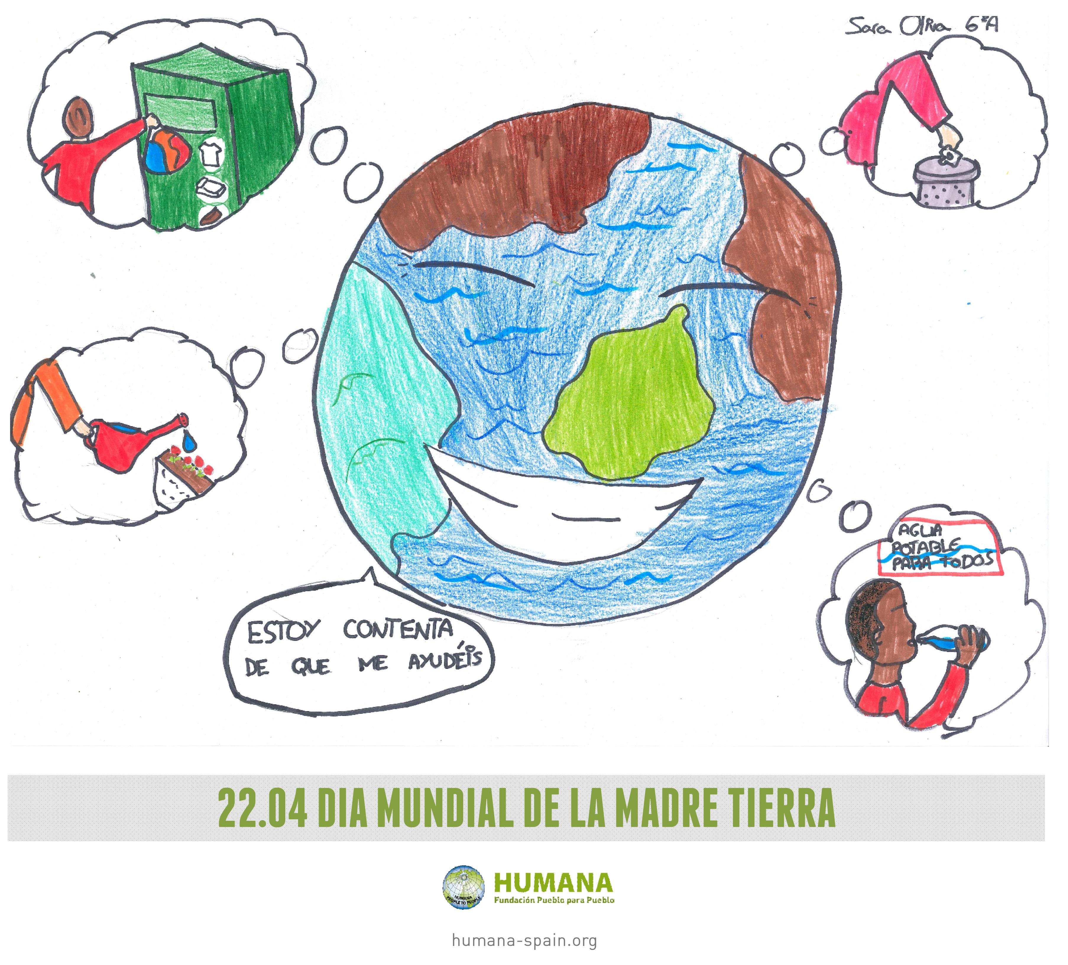 Feliz Día Mundial De La Madre Tierra Tejidos Educativos
